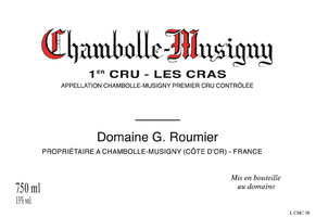 "Chambolle Musigny 1er Cru ""Les Cras"""